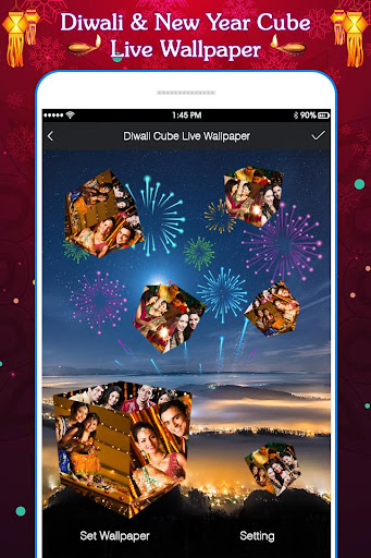 3d New Year Live Wallpaper Download