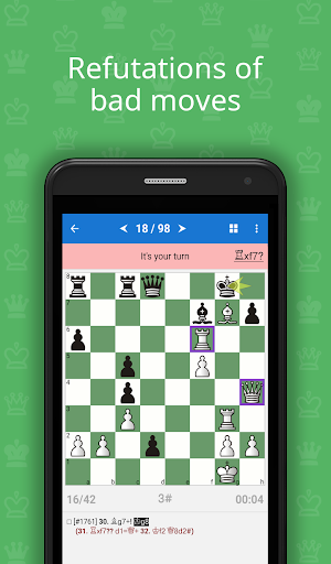 Mate in 3-4 (Chess Puzzles) 1.3.5 screenshots 3
