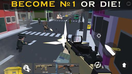 Pixel Royale Apex Battles: Survival Shooter online captures d'u00e9cran 2