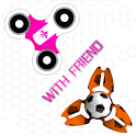Fidget Spinner Battle With Friends icon