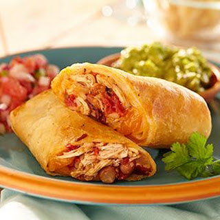 Chicken Chipotle Chimichangas
