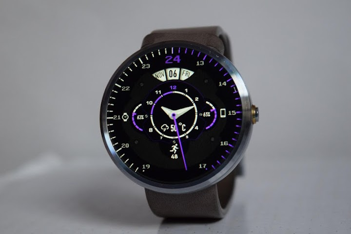 android Phroton Interactive Watch Face Screenshot 19