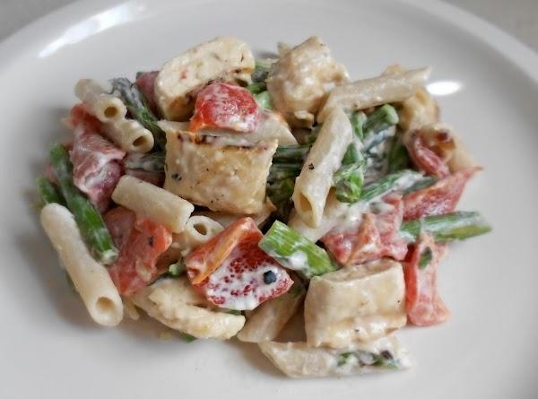 Pasta With Roasted Veggies & Cheese Recipe