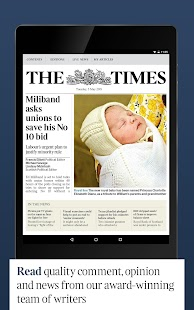 The Times & Sunday Times News- screenshot thumbnail