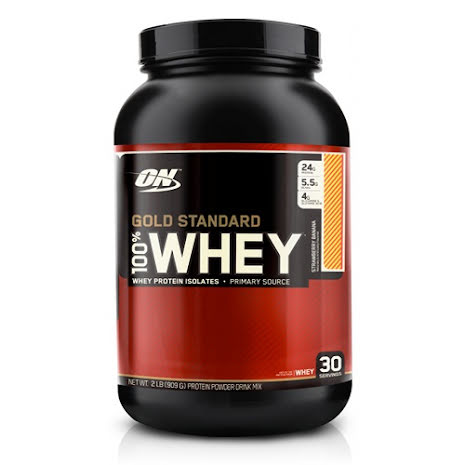 ON 100% Whey Gold Standard - Delicious Strawberry 908g