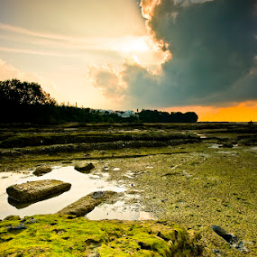 T h e  R e s t  B e g i n by Johari Nasib - Landscapes Weather