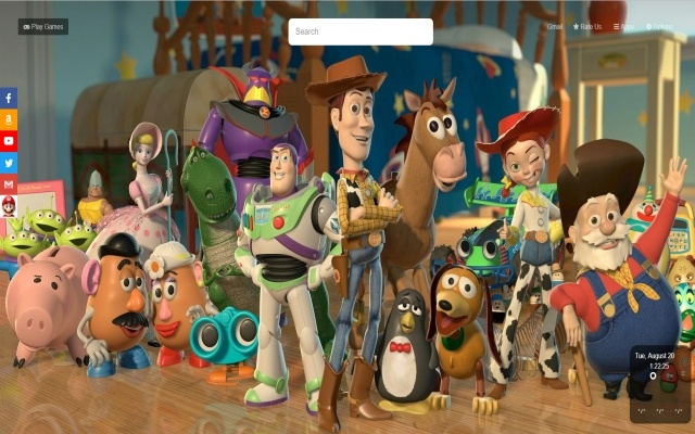 Toy Story 4 Wallpapers Hd New Tab