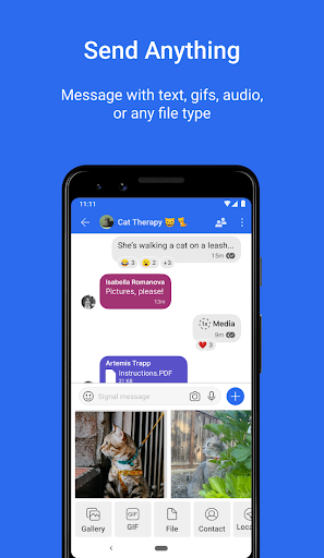 Signal Private Messenger 4.69.6 Screenshots 4
