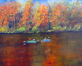 Photo: Lake Nockamixon Autumn by Loretta Luglio