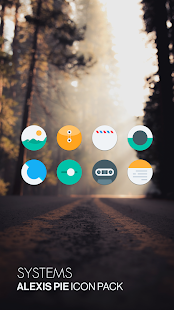 Alexis Pie Icon Pack: Clean and Minimalistic Screenshot
