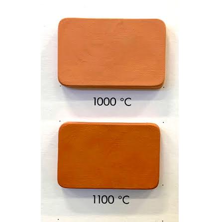 Lergodslera röd utan chamotte - 1000-1140°C