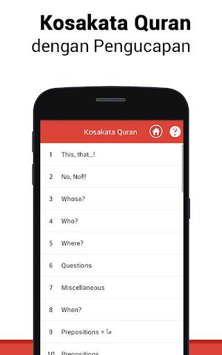 Al Quran Bahasa Indonesia MP3 screenshot 5