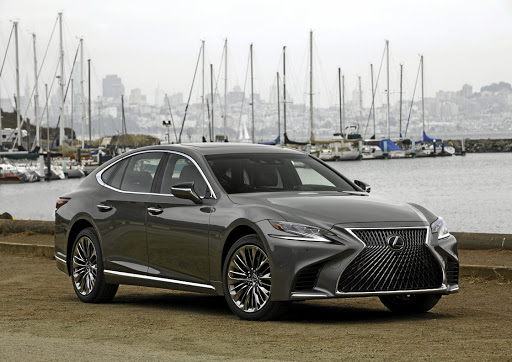 Lexus's new safety package will be rolled out initially in the new LS