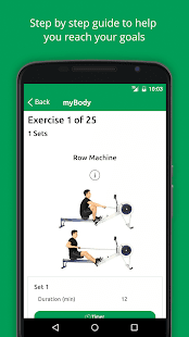 myBeweeg Trainers and Workouts- screenshot thumbnail