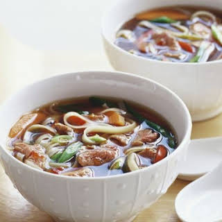 Thai-style Beef Soup.