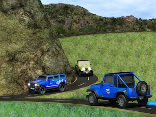 Offroad Legend Jeep Wrangler-Master Driving Games screenshot for Android