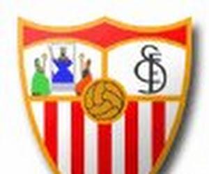 Le groupe du FC Séville face au Standard