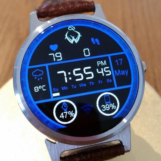 Moto 360 Digital watchface lg