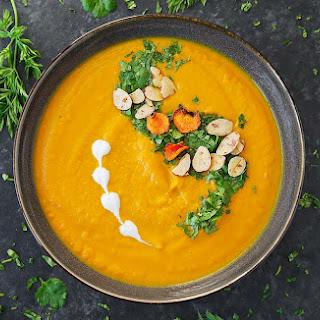 Carrot Turmeric Miso Soup.