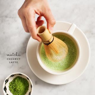 Matcha Coconut Latte.