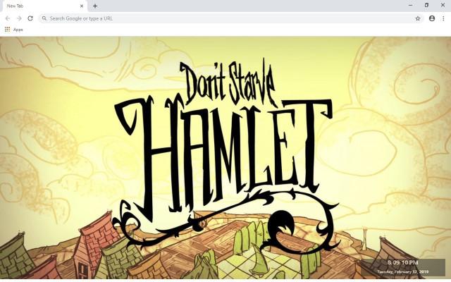 Dont Starve Hamlet New Tab