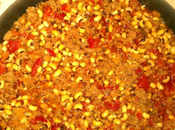 Blackeyed Pea New Year's Day Good Luck Dish