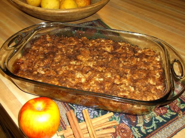 Cinnamon Apple Crisp Recipe