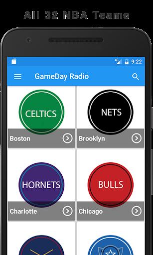 GameDay Pro Basketball Radio for NBA 1.1 screenshots 1