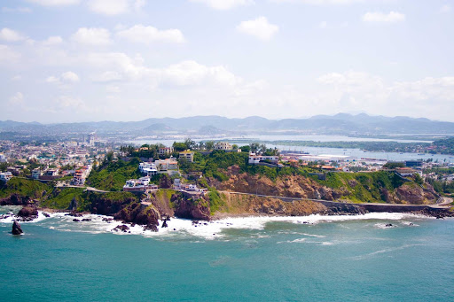 A scenic area of Mazatlan, Mexico.