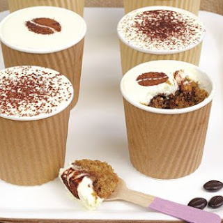Frances Quinn's coffee shot 'cup' cakes.