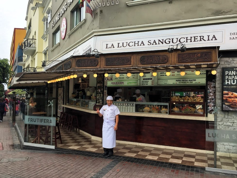 Restauracja La Lucha, Lima