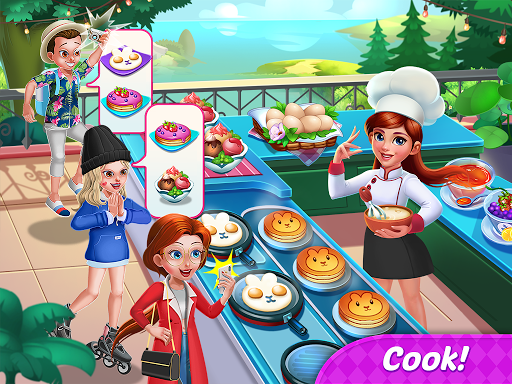 Food Diary: Cooking City & Restaurant Games 2020 filehippodl screenshot 9