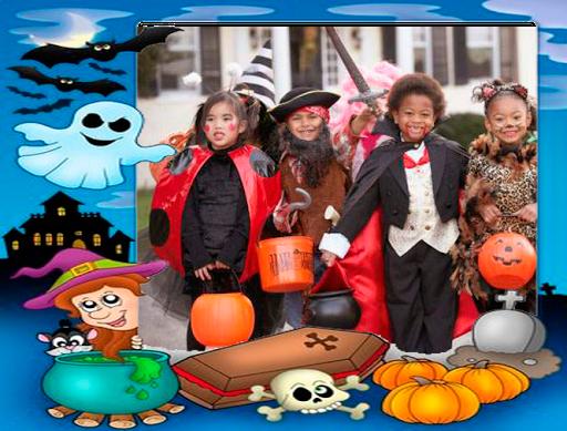 Halloween Kids Frames
