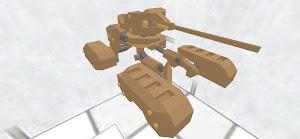 多足歩行型二式戦車