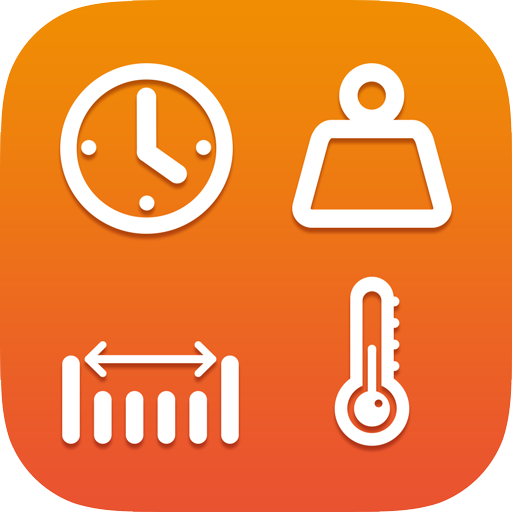 Unit converter - Convert Currency & metric units Icon