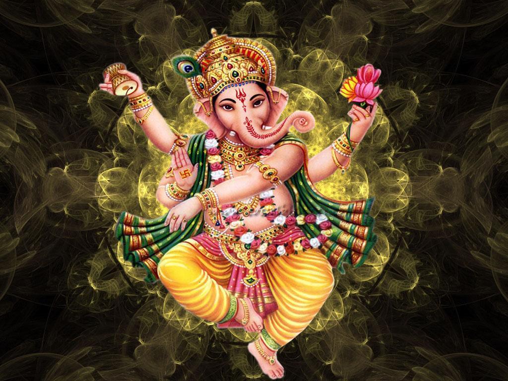 Hd wallpaper ganesh ji - Ganesh Chalisa Aarti Wallpaper Screenshot