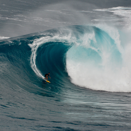Jaws Maui  by Keith Sutherland - Sports & Fitness Surfing