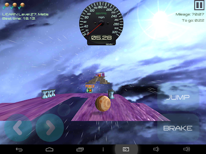 Trailbreaker Rolling Sky Ball- screenshot thumbnail