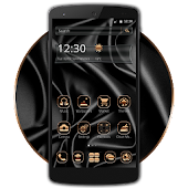 Metal Black Gold Theme Android APK Download Free By Classic Android Themes