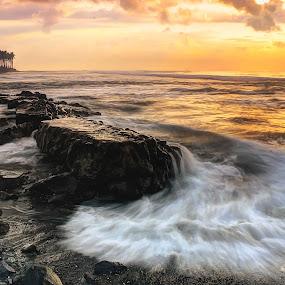 emotional Morning by I Gusti Putu Purnama Jaya - Landscapes Waterscapes ( adhitz arch, tut bolang, biksudinata, agoes antara, yuditia mendra )