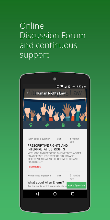 myLaw: Self-learning Courses in Law- screenshot