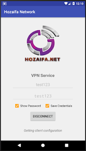 Hozaifa Network VPN - náhled