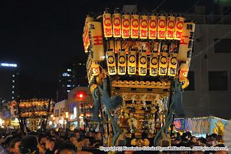 Photo: 【平成27年(2015) 本宮】 夜間渡御も佳境に入る