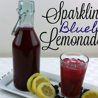 Sparkling Blueberry Lemonade Recipe