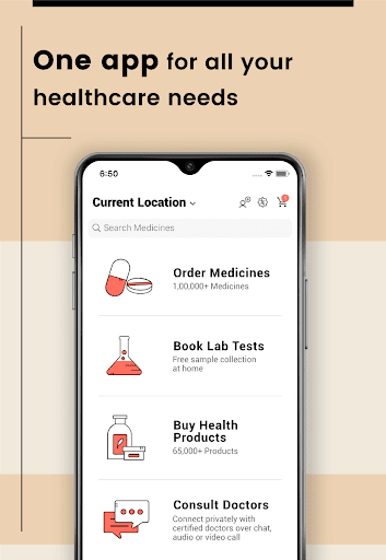 1mg - Online Medical Store & Healthcare App Apk 2