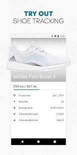 adidas Running app by Runtastic - Fitness Tracker Screenshot