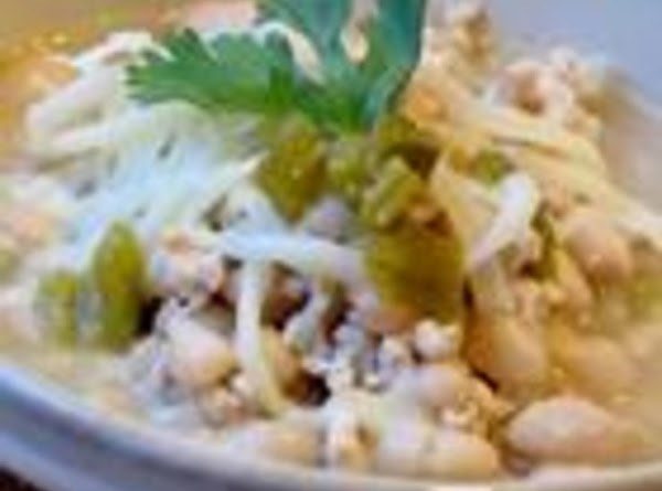 White Chili With Ground Turkey Recipe