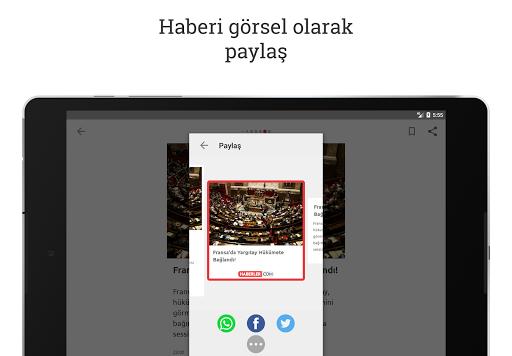 Haberler: Son Dakika Haberleri 3.1.11 screenshots 9