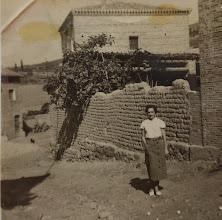 """Photo: En el """"Pecho la Goya"""". Proveedor: Susana Ojeda. Año: 1950."""