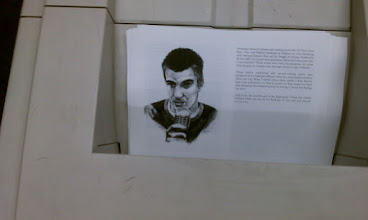 Photo: Manuscripts being printed. This image is of p. 114 of Oakland in Popular Memory featuring Rafael Casal.